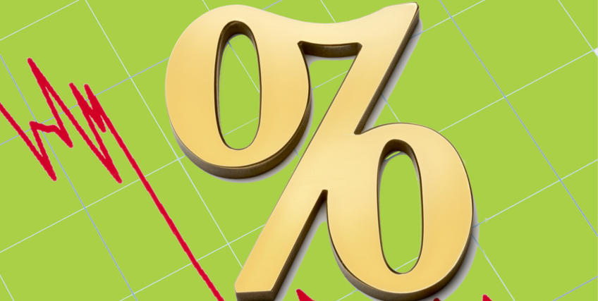 Interest rates on their way down