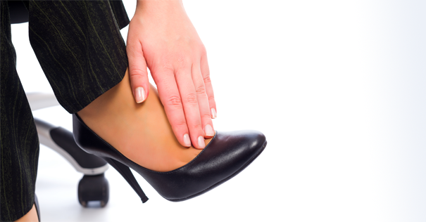 Don't Let High Heels Cramp Your Style at Work