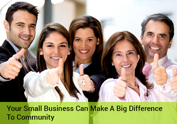 How to Make a Difference with Your Small Business