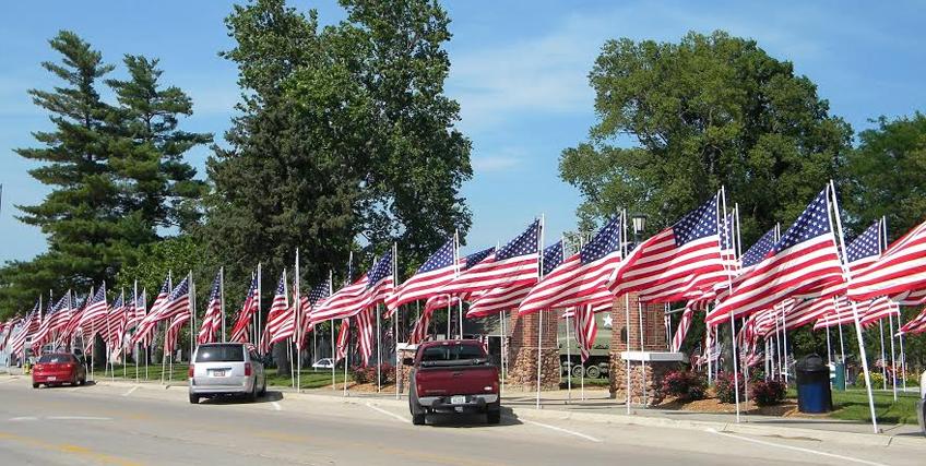 Promote Patriotism and Show Local Pride