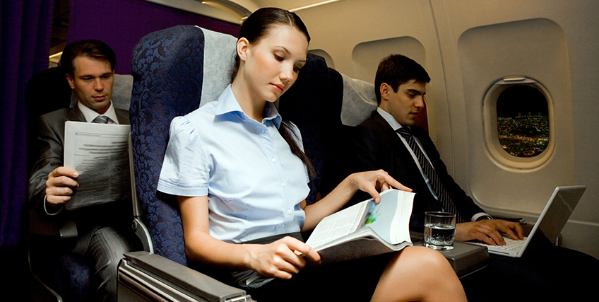Going on a Business Trip? How to Be Productive on the Flight