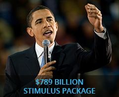 $789 billion stimulus package